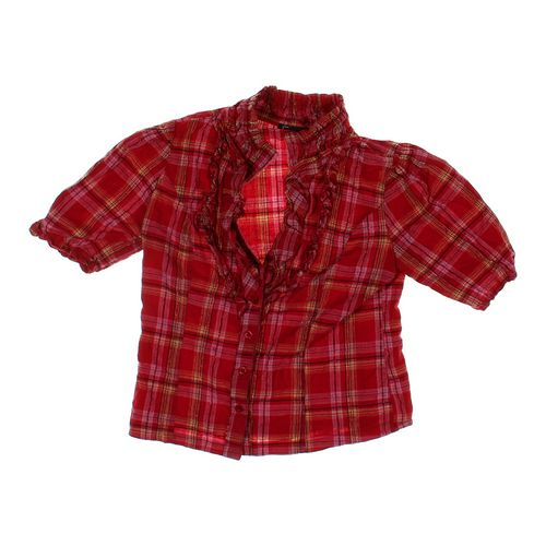 Faisca Plaid Shirt in size 8 at up to 95% Off - Swap.com