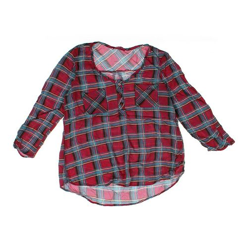 Shasa Plaid Shirt in size JR 7 at up to 95% Off - Swap.com