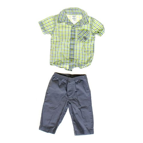 Child of Mine Plaid Shirt & Pants in size 3 mo at up to 95% Off - Swap.com