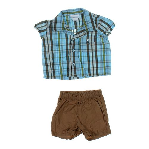 Just One You Plaid Shirt & Shorts Set in size 6 mo at up to 95% Off - Swap.com