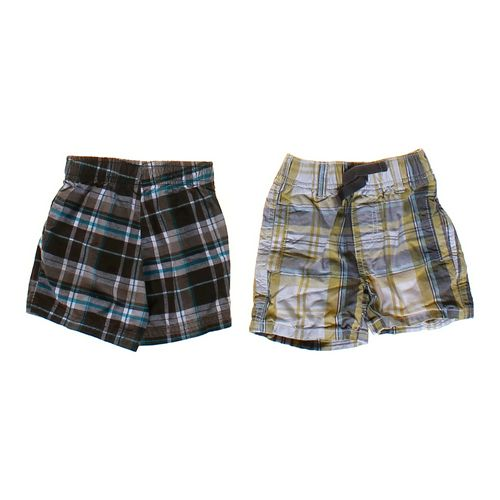 Carter's Plaid Short Set in size 6 mo at up to 95% Off - Swap.com