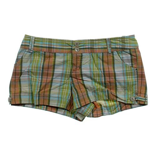 Motherhood Maternity Plaid Shorts in size JR 9 at up to 95% Off - Swap.com