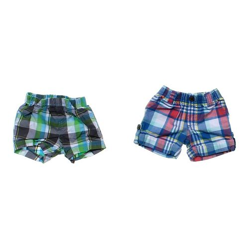 Child of Mine Plaid Shorts Set in size 3 mo at up to 95% Off - Swap.com