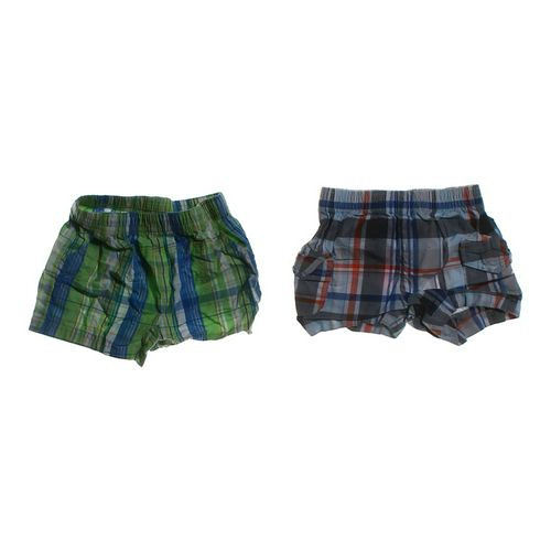 Garanimals Plaid Shorts Set in size 6 mo at up to 95% Off - Swap.com