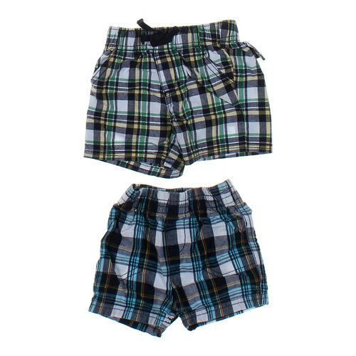 Gymboree Plaid Shorts Set in size 3 mo at up to 95% Off - Swap.com