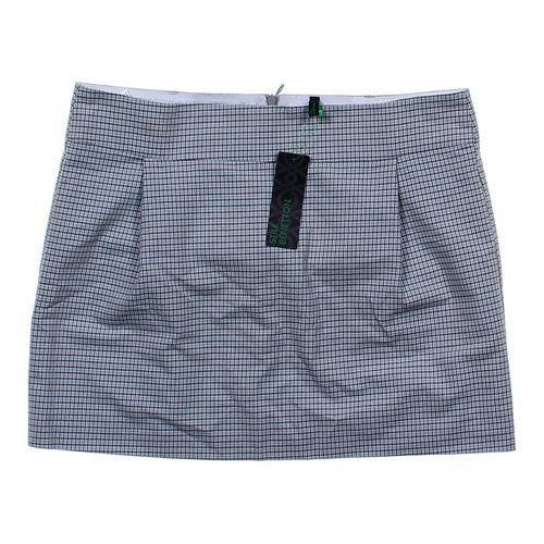 Benetton Plaid Skirt in size 10 at up to 95% Off - Swap.com