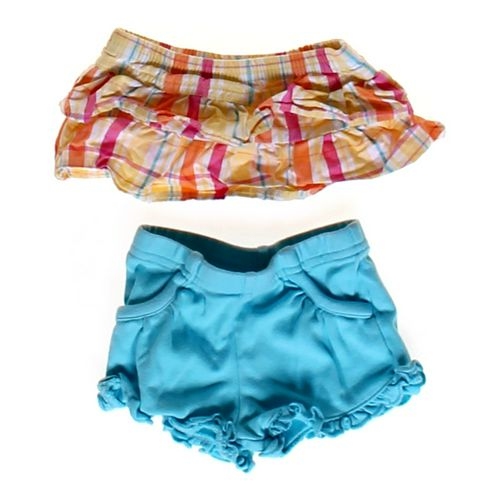 Garanimals Plaid Skirt & Shorts Set in size NB at up to 95% Off - Swap.com