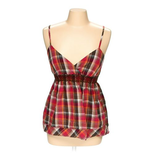 BCX Plaid Sleeveless Top in size M at up to 95% Off - Swap.com