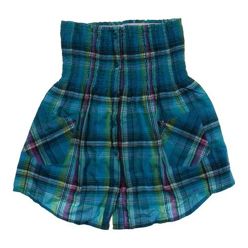 Op Plaid Strapless Shirt in size JR 11 at up to 95% Off - Swap.com
