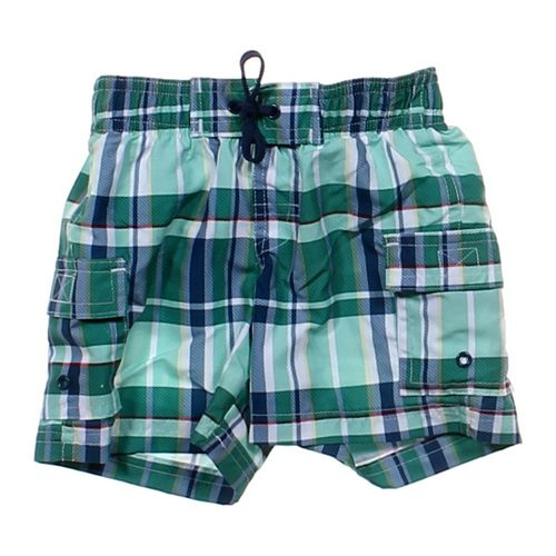 Koala Kids Plaid Swim Trunks in size 6 mo at up to 95% Off - Swap.com