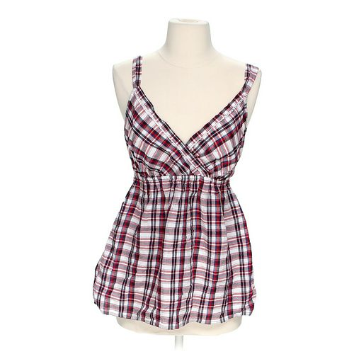 Faded Glory Plaid Tank in size S at up to 95% Off - Swap.com
