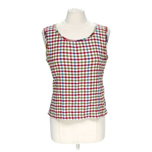 Lemon Grass Studio Plaid Tank in size M at up to 95% Off - Swap.com