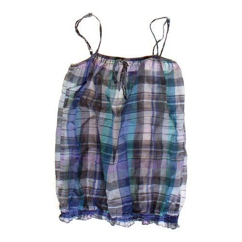 At Last Plaid Tank Top in size JR 3 at up to 95% Off - Swap.com