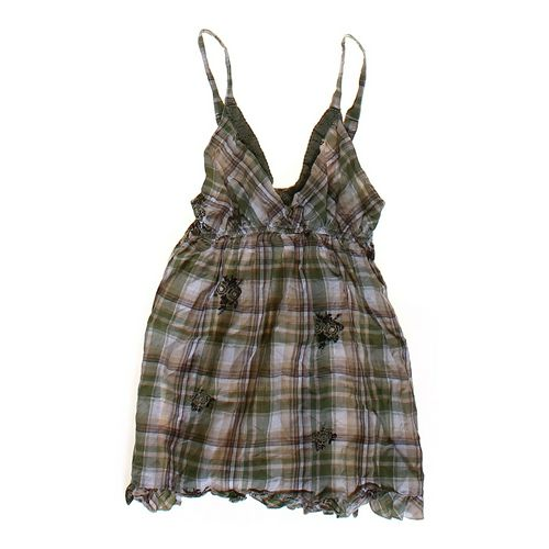 Vanity Plaid Tank Top in size JR 3 at up to 95% Off - Swap.com