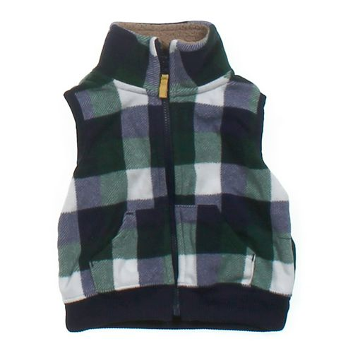 Carter's Plaid Vest in size 6 mo at up to 95% Off - Swap.com