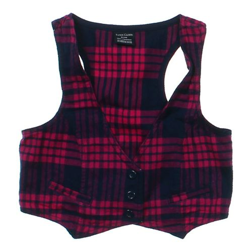 Faded Glory Plaid Vest in size 7 at up to 95% Off - Swap.com