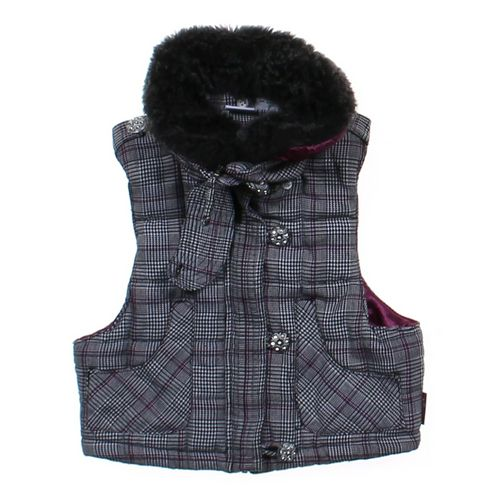 Hannah Montana Plaid Vest in size 8 at up to 95% Off - Swap.com