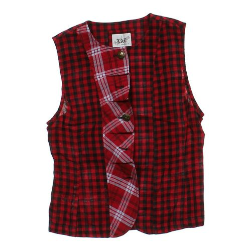 Live A Little Plaid Vest in size JR 7 at up to 95% Off - Swap.com