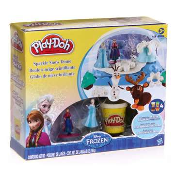 Play-Doh Frozen Sparkle Snow Dome for Sale on Swap.com
