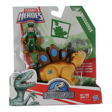 Playskool Heroes Jurassic World Tracker Stegosaurus Figure for Sale on Swap.com