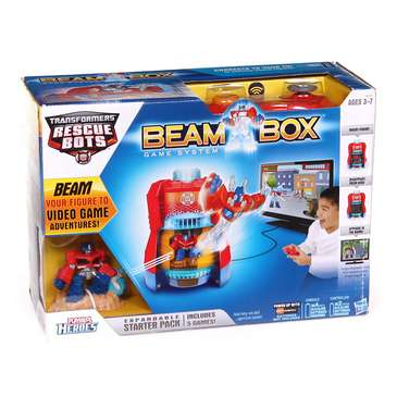 Playskool Heroes Transformers Rescue Bots Beam Box Game System for Sale on Swap.com