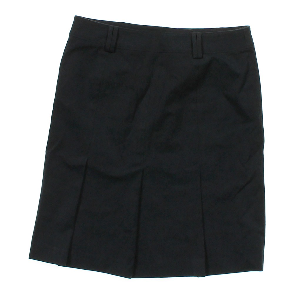 black loft pleated skirt in size 8 at up to 95