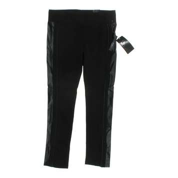 Pleather Accented Leggings for Sale on Swap.com