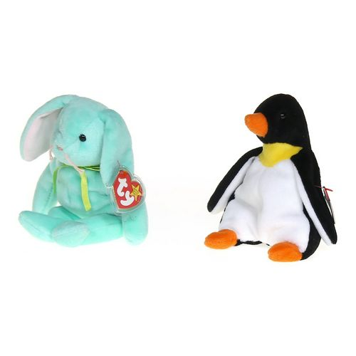 Ty Plush Bunny & Penguin Set at up to 95% Off - Swap.com