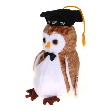 Plush Graduation Owl for Sale on Swap.com