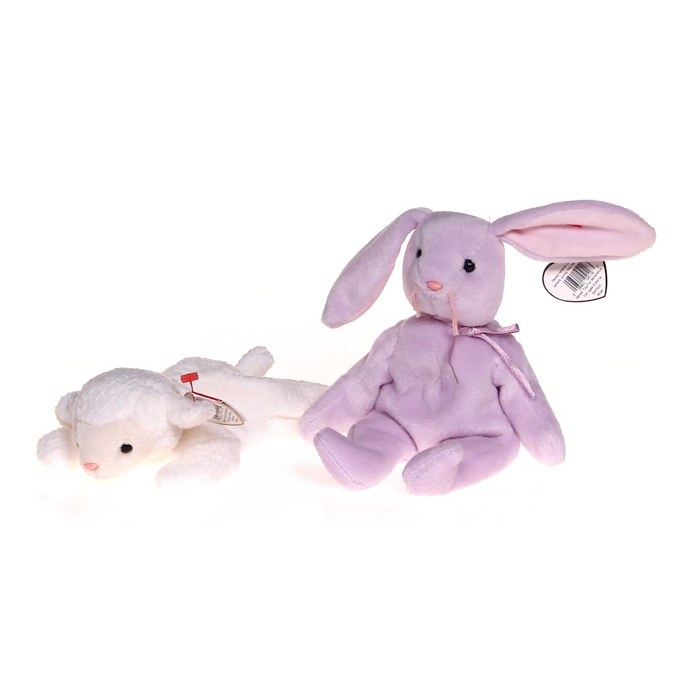 ee228bdf57f Ty Plush Lamb   Bunny Set at up to 95% Off - Swap.com