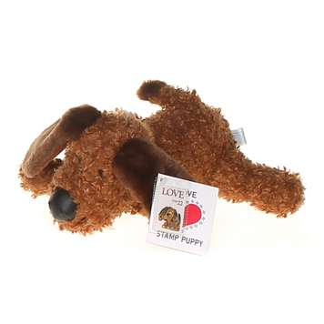 Plush Toy: Love Stamp Puppy for Sale on Swap.com