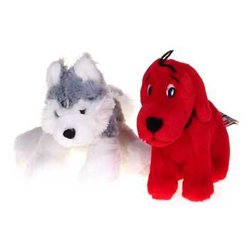 Plush Wolf & Clifford Set for Sale on Swap.com
