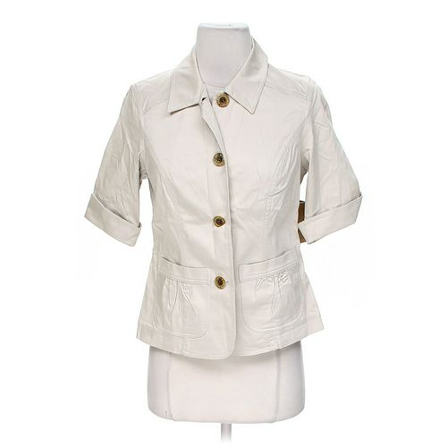 Coldwater Creek Pocket Detail Jacket in size 4 at up to 95% Off - Swap.com