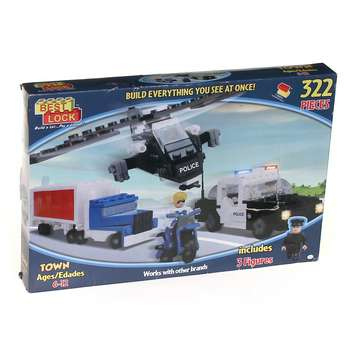 Police Chase Building Set for Sale on Swap.com
