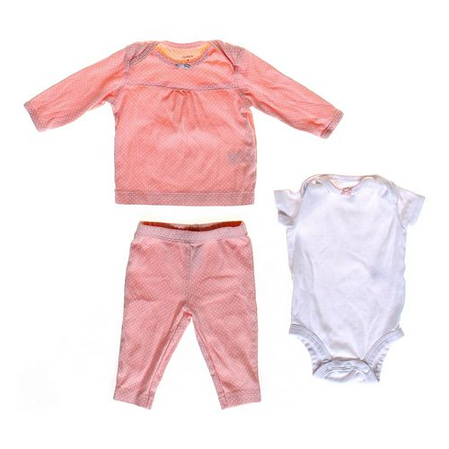 Carter's Polk-a-Dot Outfit & Bodysuit in size 3 mo at up to 95% Off - Swap.com