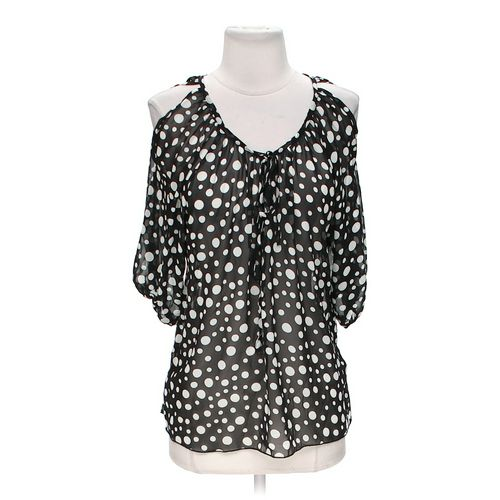 Chris & Carol Polka Dot Blouse in size S at up to 95% Off - Swap.com