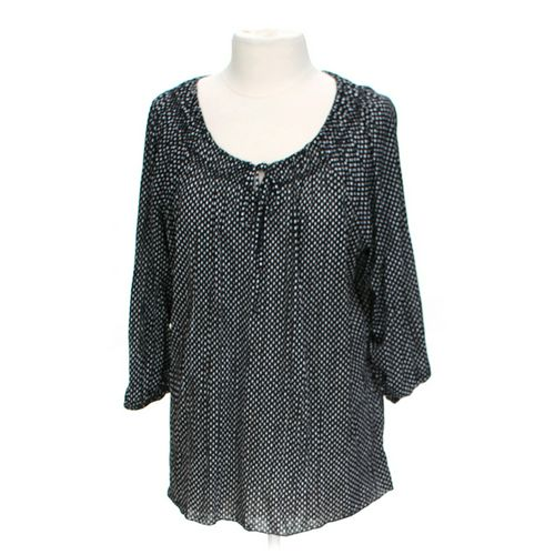 Faded Glory Polka Dot Blouse in size 12 at up to 95% Off - Swap.com