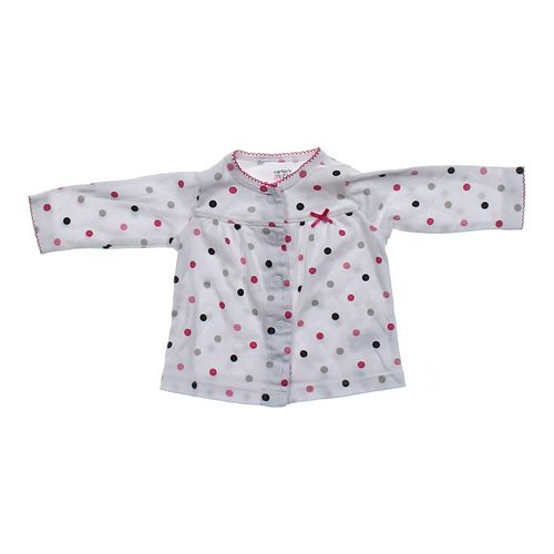 Carter's Polka Dot Cardigan in size 3 mo at up to 95% Off - Swap.com