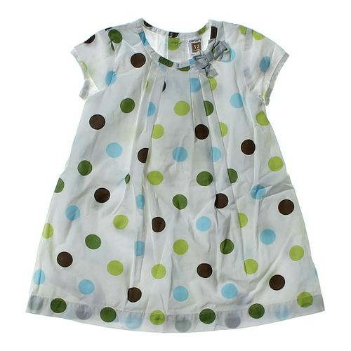Carter's Polka Dot Dress in size 12 mo at up to 95% Off - Swap.com