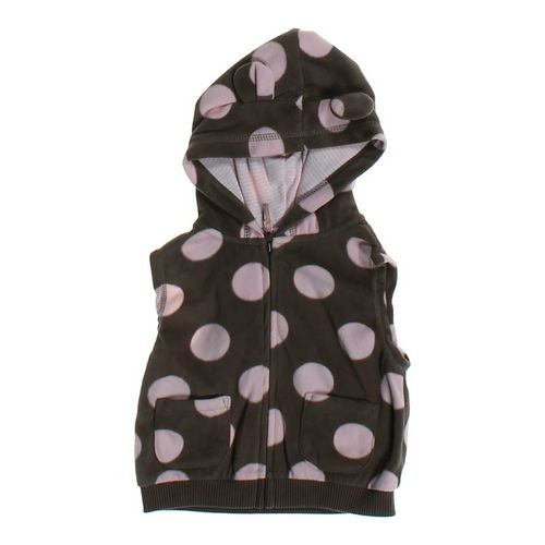 Carter's Polka Dot Fleece Vest in size 18 mo at up to 95% Off - Swap.com