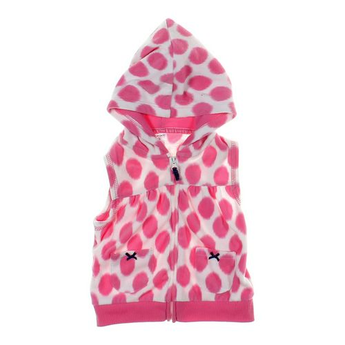 Carter's Polka Dot Hooded Vest in size 18 mo at up to 95% Off - Swap.com