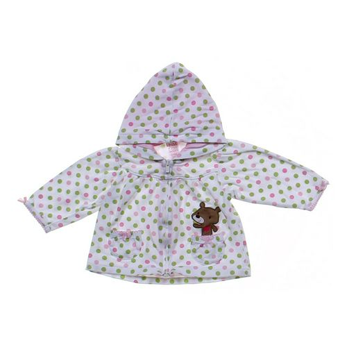 Child of Mine Polka Dot Hoodie in size 3 mo at up to 95% Off - Swap.com