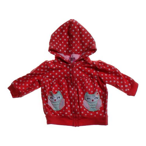 Carter's Polka Dot Hoodie Jacket in size 3 mo at up to 95% Off - Swap.com
