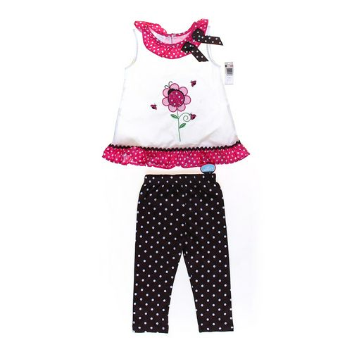 WonderKids Polka Dot Outfit in size 5/5T at up to 95% Off - Swap.com