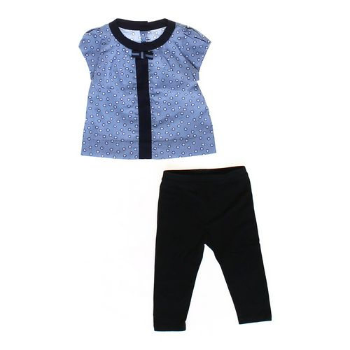Jacadi Polka Dot Shirt & Leggings Set in size 18 mo at up to 95% Off - Swap.com