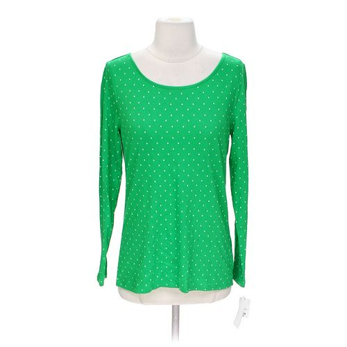 Liz Claiborne Polka Dot Shirt in size S at up to 95% Off - Swap.com
