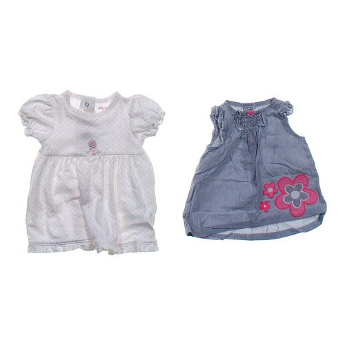 Little Me Polka Dot Shirt & Tunic Set in size 3 mo at up to 95% Off - Swap.com