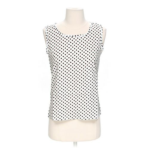 C'est La Vie Polka Dot Tank Top in size M at up to 95% Off - Swap.com