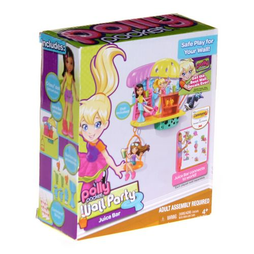 Mattel Polly Pocket Wall Party Juice Bar at up to 95% Off - Swap.com