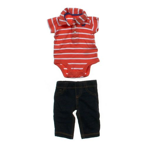 Carter's Polo Bodysuit & Jeggings Outfit in size NB at up to 95% Off - Swap.com